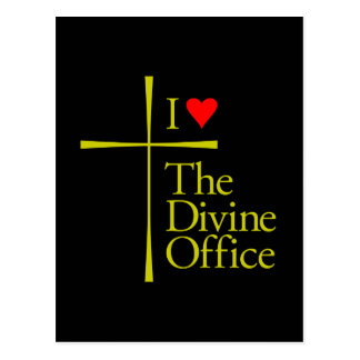 I Love The Divine Office Postcard