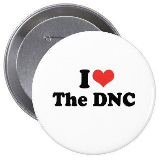 I LOVE THE DNC - .png Pin