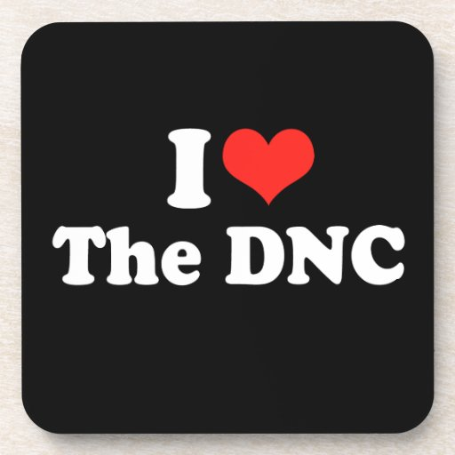 I LOVE THE DNC.png Coaster