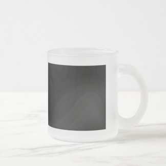 I Love The Dotted Line 10 Oz Frosted Glass Coffee Mug