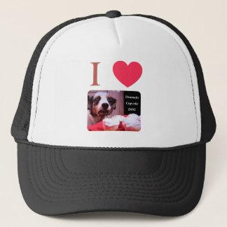I Love The Dramatic Cupcake Dog Trucker Hat