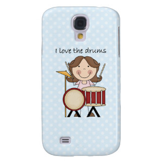 I Love The Drums Kids Music Gift Samsung Galaxy S4 Cover