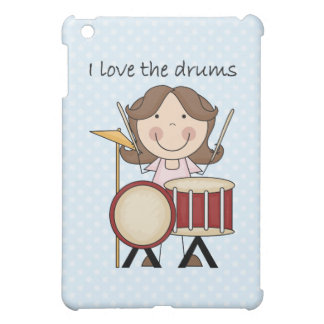 I Love The Drums Kids Music Gift Case For The iPad Mini