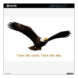 "I love the earth, I love the sky Decal For 11"" MacBook Air"