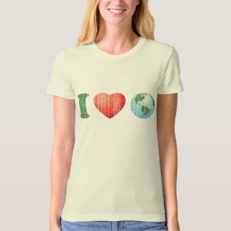 I Love The Earth T-Shirt