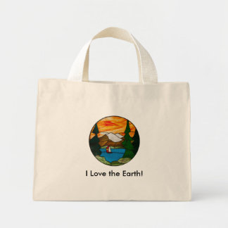 I Love the Earth! Tote Shopping Bag