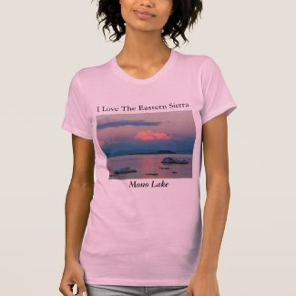 I Love The Eastern Sierra Mono Lake T-Shirt