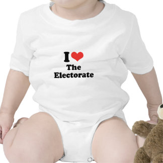I LOVE THE ELECTORATE - png Tee Shirts