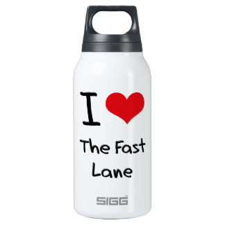 I Love The Fast Lane 10 Oz Insulated SIGG Thermos Water Bottle