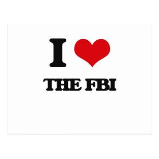 I love The Fbi Postcard
