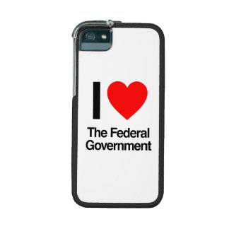 i love the federal government case for iPhone 5