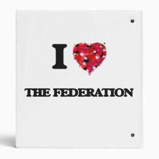 I love The Federation Binder