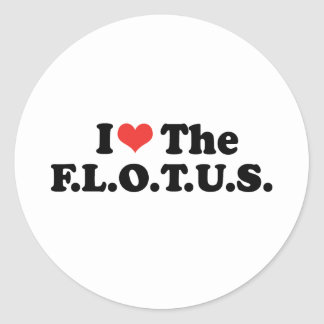 I LOVE THE FLOTUS - .png Sticker