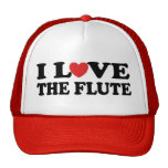I Love The Flute Hat