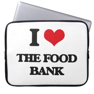 I love The Food Bank Computer Sleeves