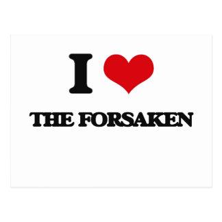 I Love The Forsaken Postcard
