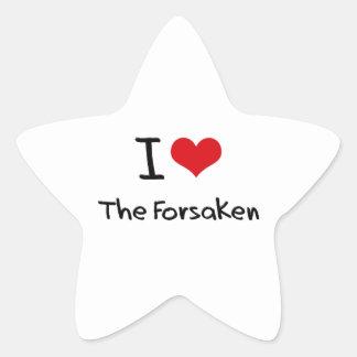 I Love The Forsaken Star Sticker
