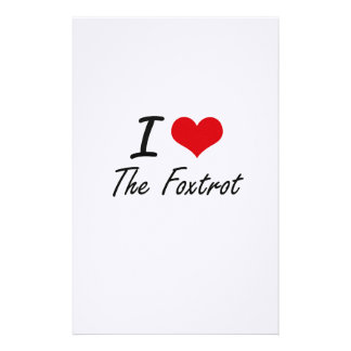 I love The Foxtrot Stationery