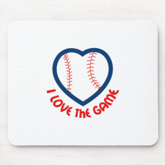 I LOVE THE GAME MOUSEPADS