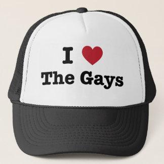 I Love The Gays Shirt Trucker Hat
