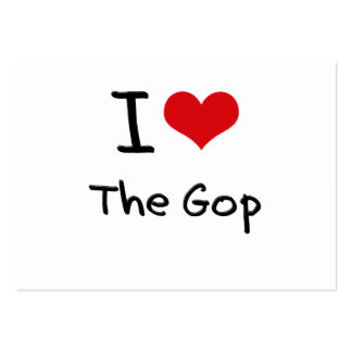 I Love The Gop Business Cards