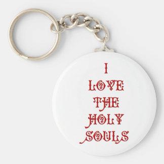 I love The Holy Souls Keychain