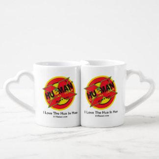 I Love The Hue White Coffee Mug