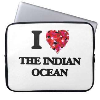 I love The Indian Ocean Laptop Sleeves