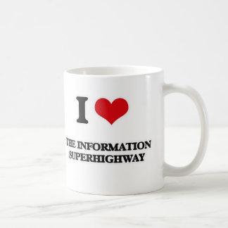 I Love The Information Superhighway Coffee Mug