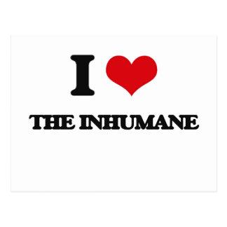 I Love The Inhumane Postcard