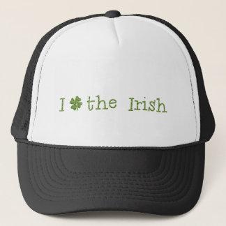 I Love the irish Trucker Hat