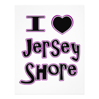 I love the jersey shore full color flyer