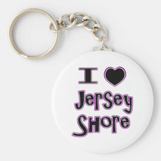 I love the jersey shore keychains