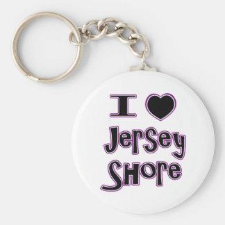 I love the jersey shore keychain