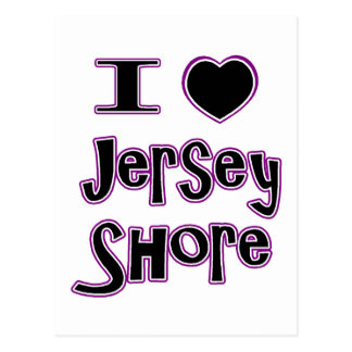 I love the jersey shore postcard
