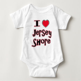 I love the jersey shore red infant creeper