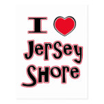 I love the jersey shore red post cards