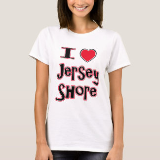 I love the jersey shore red T-Shirt