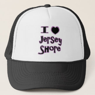 I love the jersey shore trucker hat