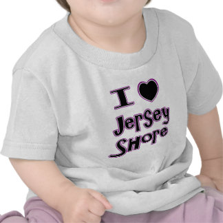 I love the jersey shore tee shirt