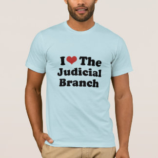 I LOVE THE JUDICIAL BRANCH - .png T-Shirt