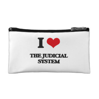 I Love The Judicial System Cosmetic Bags