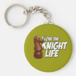 I Love The Kinght Life Keychain