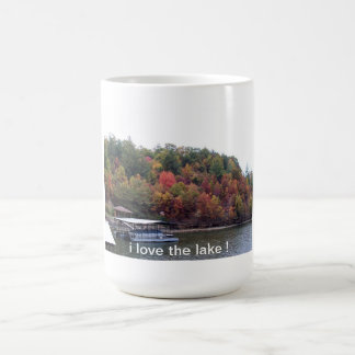 i love the lake mug