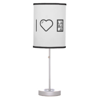 I Love The Librarys Table Lamp
