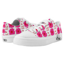 I Love the Lord (Floral) Printed Shoes