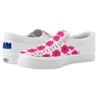 I Love the Lord (Floral) Slip-On Sneakers