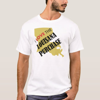 I Love the Louisiana Purchase T-Shirt