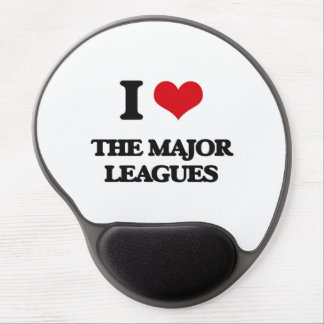 I Love The Major Leagues Gel Mouse Pad