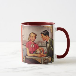 I Love the Malt Shop Era Mug